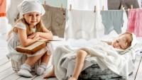 Schimmel durch nasse Wäsche in der Wohnung